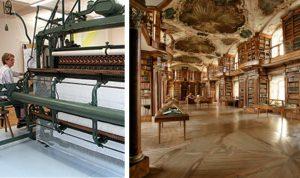 Exkursion Textilmuseum oder Stiftsbibliothek in St. Gallen @ St. Gallen